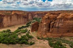 Monumento nacional de Canyon De Chelly Imagen de archivo libre de regalías