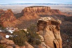 Monumento nacional de Colorado Fotografía de archivo libre de regalías