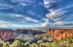 Monumento nacional de Colorado Imagen de archivo libre de regalías