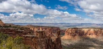 Monumento nacional de Colorado Imagem de Stock Royalty Free