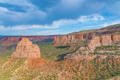 Monumento nacional de Colorado Foto de archivo