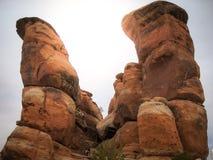 Monumento nacional de Colorado perto de Grand Junction Colorado Foto de Stock