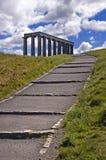 Monumento nacional de Edimburgo Imagem de Stock