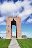 Monumento nacional de Ejer Bavnehoj, Dinamarca Fotografia de Stock Royalty Free
