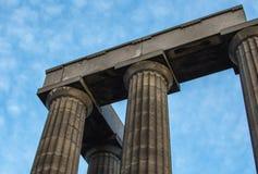 Monumento nacional de Escócia Imagem de Stock Royalty Free