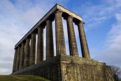 Monumento nacional de Escocia foto de archivo libre de regalías