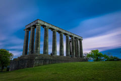 Monumento nacional de Escocia imagen de archivo libre de regalías
