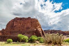Monumento nacional de Garganta De Chelly Imagem de Stock