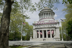 Monumento nacional de general Grant Foto de archivo