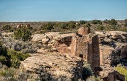 Monumento nacional de Hovenweep en Colorado y Utah Fotos de archivo libres de regalías