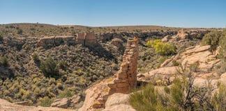 Monumento nacional de Hovenweep en Colorado y Utah Imagen de archivo libre de regalías