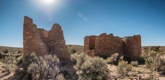 Monumento nacional de Hovenweep en Colorado y Utah Foto de archivo