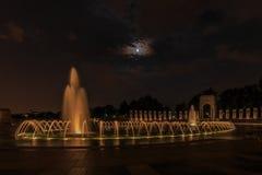 Monumento nacional de la Segunda Guerra Mundial Foto de archivo libre de regalías