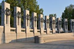 Monumento nacional de la Segunda Guerra Mundial en Washington, DC Imagen de archivo