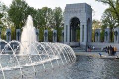 Monumento nacional de la Segunda Guerra Mundial en Washington, DC Fotografía de archivo libre de regalías