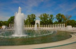 Monumento nacional de la Segunda Guerra Mundial (Washington DC) Fotografía de archivo libre de regalías