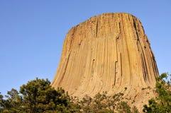 Monumento nacional de la torre de los diablos Imágenes de archivo libres de regalías