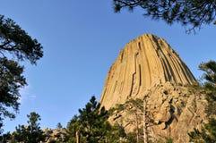 Monumento nacional de la torre de los diablos Foto de archivo libre de regalías