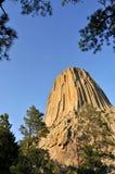 Monumento nacional de la torre de los diablos Imagenes de archivo