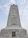 Monumento nacional de los hermanos de Wright Imagenes de archivo