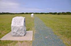 Monumento nacional de los hermanos de Wright fotos de archivo libres de regalías