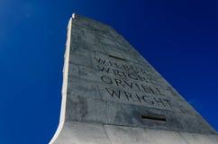 Monumento nacional de los hermanos de Wright Fotografía de archivo