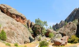 Monumento nacional de los pináculos imagen de archivo libre de regalías