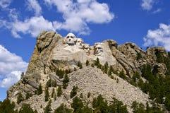 Monumento nacional de Rushmore del montaje Imagenes de archivo