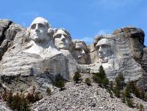 Monumento nacional de Rushmore del montaje foto de archivo