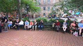 Monumento nacional de Stonewall almacen de metraje de vídeo