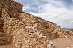 Monumento nacional de Tuzigoot Foto de archivo libre de regalías