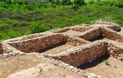 Monumento nacional de Tuzigoot Imagenes de archivo