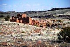 Monumento nacional de Wupatki Imagen de archivo