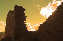 Monumento nacional de Wupatki Fotos de archivo libres de regalías