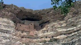 Monumento nacional del castillo de Montezuma almacen de metraje de vídeo