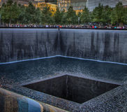 Monumento nacional del 11 de septiembre foto de archivo libre de regalías