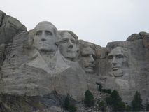 Monumento nacional del monte Rushmore en los E.E.U.U. imagenes de archivo