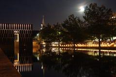Monumento nacional del Oklahoma City Fotografía de archivo