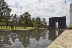 Monumento nacional del Oklahoma City fotos de archivo libres de regalías