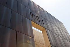 Monumento nacional del Oklahoma City foto de archivo
