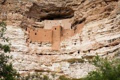 Monumento nacional do castelo de Montezuma Fotos de Stock Royalty Free