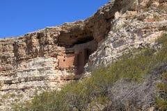 Monumento nacional do castelo de Montezuma Fotografia de Stock