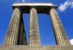 Monumento nacional escocês Fotografia de Stock