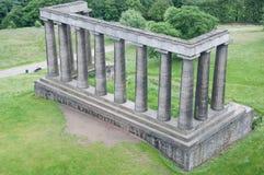 Monumento nacional escocês, monte de Calton, Edimburgo Fotografia de Stock