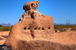 Monumento nacional grandioso das casas Imagem de Stock Royalty Free