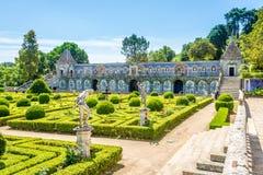 Monumento nacional - jardim de marqueses do palácio de Fronteira em Lisboa - Portugal Fotos de Stock