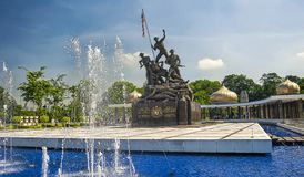 MONUMENTO NACIONAL - KUALA LUMPUR imagem de stock