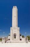 Monumento Nacional une La Bandera Photo libre de droits