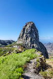 Monumento Natural de los Roques no La Gomera Foto de Stock