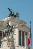 Monumento Nazionale ένα Vittorio Emanuele ΙΙ, Ρώμη Στοκ Φωτογραφία